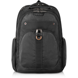 Everki 11 Inch to 15.6 Inch Atlas Checkpoint Friendly  Laptop Backpack Black