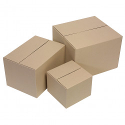 Marbig Enviro Packing Carton Recycled 230x230x180 Size 1 Pack Of 10