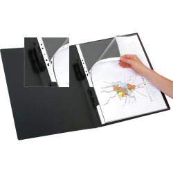 Marbig Display Book Refills A3 Clear Pack Of 10