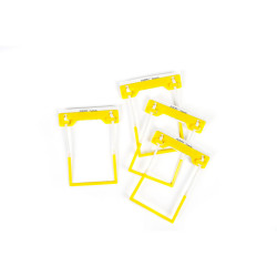 Avery Tubeclip File Fastener Complete Yellow Bulk Pack Box of 500