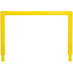Avery Tubeclip File U Piece U Piece Only Yellow Pack of 25