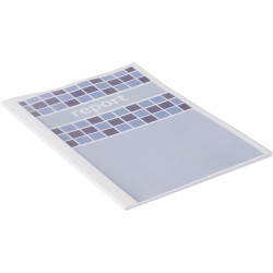 GBC Thermal Binding Covers A4 150 Micron 1.5mm Spine Clear Pack of 100