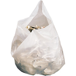 Regal Degradable Bin Liners 28 Litres White Pack of 50