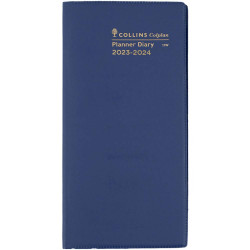 Collins Colplan Planner B6/7 2 Years Month To View Blue
