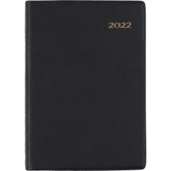 Collins Belmont Pocket Diary A7 Day To Page Black